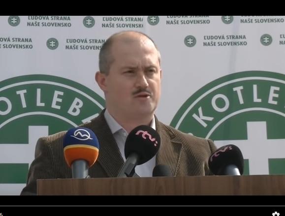 Marian Kotleba ( L-SNS - Ľudová- strana Naše Slovensko)