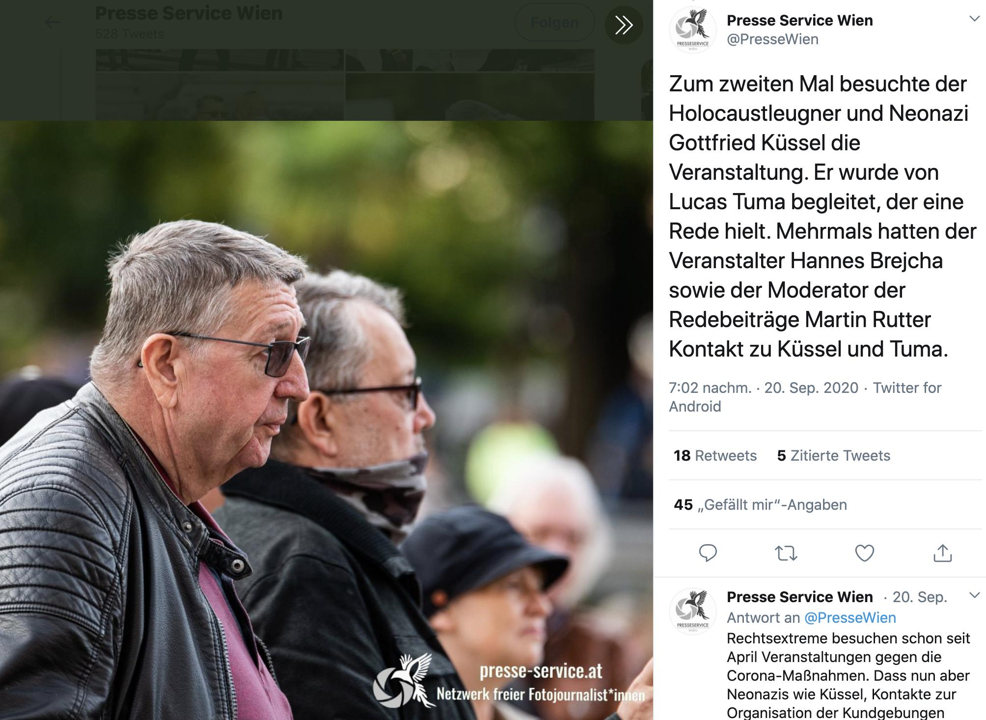 Tuma und Küssel (Foto Presseservice)
