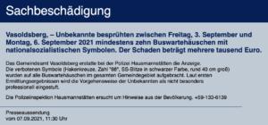 Mitteilung der LPD Stmk. (7.9.21)