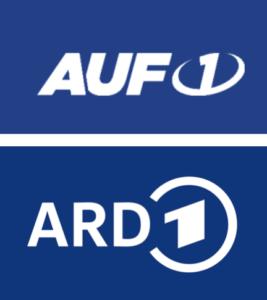 Logo AUF1 und ARD