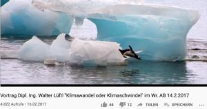 Holocaustleugner Lüftl beim WAB: 2017 als Klimawandelleugner