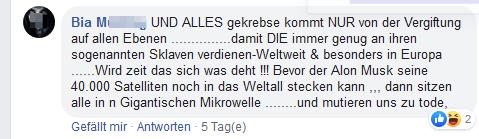 """Bia M über """"Gekrebse"""" auf Martins FB-Account"""