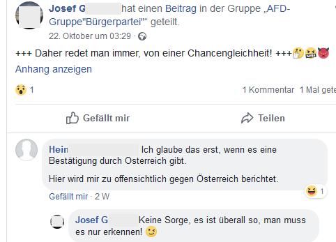 """Josef G.: """"man muss es nur erkennen!"""""""