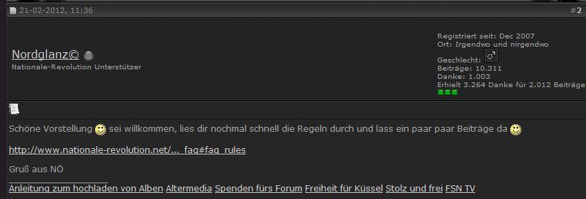 User Nordglanz (Admin)