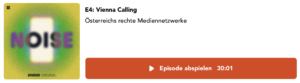 """Podcast """"Noise"""" – Vienna Calling"""