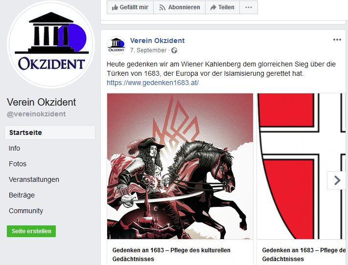 Verein Okzident Gedenken 1683