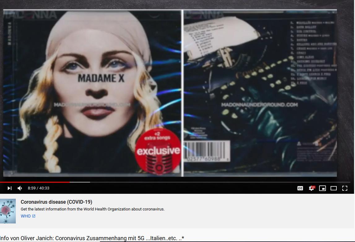 Oliver Janich entlarvt Madonna mit Corona