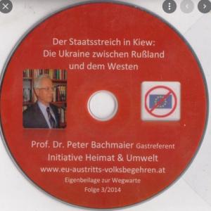 """Peter Bachmaier bei """"Heimat & Umwelt"""""""