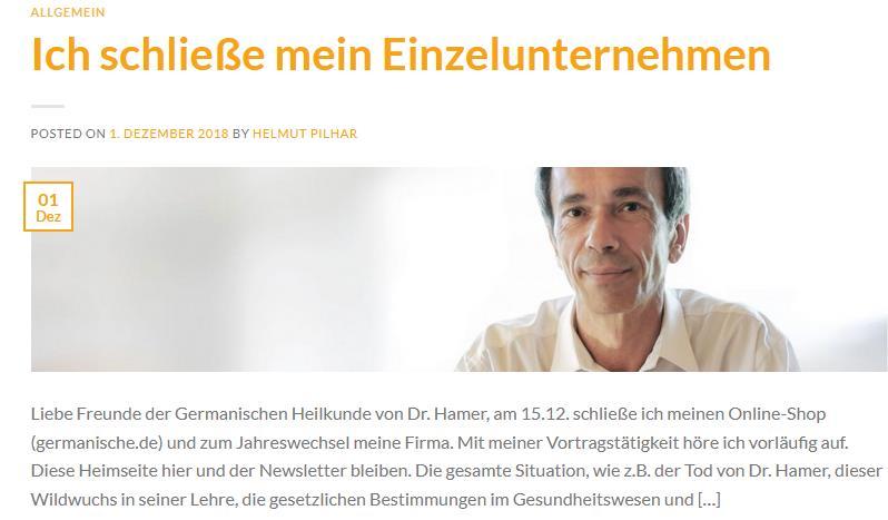"""Pilhar schließt sein """"Einzelunternehmen"""""""
