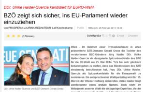 Prosperia Laurina: Gerald Grosz und Claudia Haider-Quercia