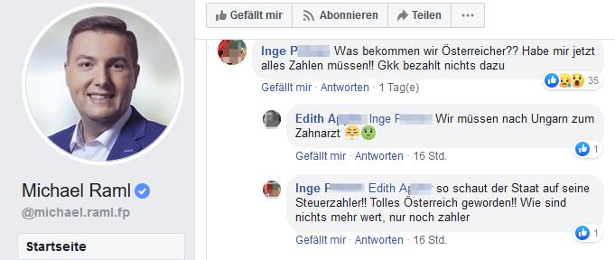 """""""So schaut der Staat auf seine Steuerzahler!! Tolles Österreich geworden!! Wie sind nichts mehr wert, nur noch zahler"""""""