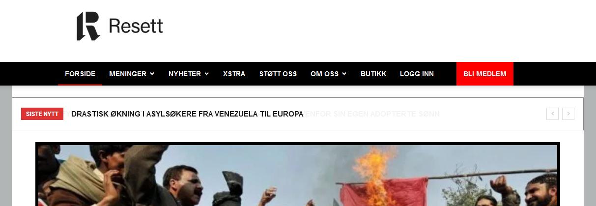 """Das norwegische """"unzensuriert"""": Resett"""