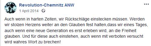 Revolution Chemnitz 2014