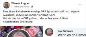 "Rogner über Bürbaum: ""Eine ältere Linkslinke"""