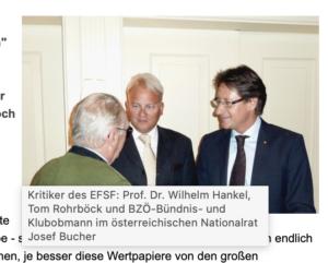 Rohrböck mit Wilhelm Hankel und Josef Bucher (Quelle: skylla.at)