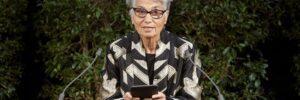 Ruth Klüger am Gedenktag gegen Gewalt und Rassismus im Gedenken an die Opfer des Nationalsozialismus