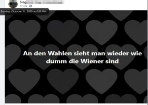 """wie dumm die Wiener sind"""