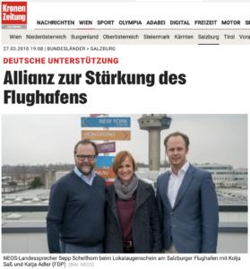 Schellhorn, Adler und Saß in der Kronen Zeitung