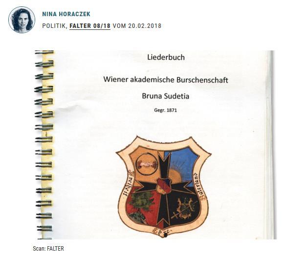 Falter zum Brunen-Liederbuch