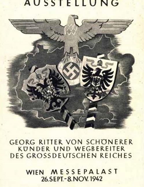 Plakat zur Ausstellung über Schönerer 1942