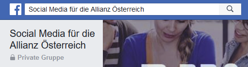 Social Media für die Allianz Österreich