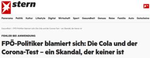 Stern: FPÖ-Politiker blamiert sich