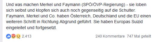 """Strache: """"Europas Suizid"""" (19.3.16)"""