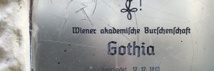 Türschild der Burschenschaft Gothia Wien
