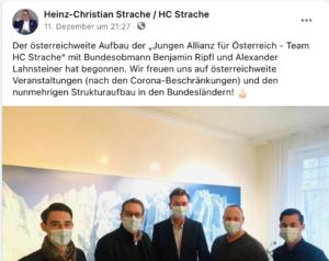 """THC gründet die """"Junge Allianz"""" mit Benjamin Ripfl und Alexander Lahnsteiner"""