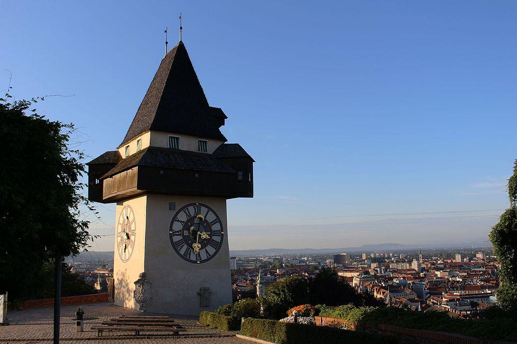 Der Uhrturm in Graz - Wahrzeichen der Stadt und Titel der Zeitung der FPÖ-Graz - Bildquelle: Wikipedia, frei.