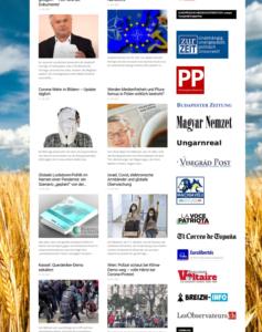 """Medienpartner von """"Unser Mitteleuropa"""": rechtsextreme und faschistische Medien"""