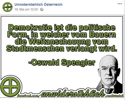 Unwiderstehlich: Antidemokrat Spengler