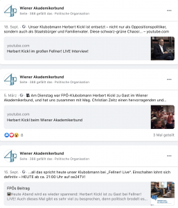 """WAB: Kickl als """"unser Klubobmann"""""""