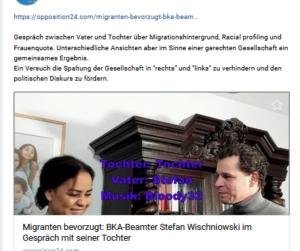 Wischniowski über angebliche Ausländerbevorzugung