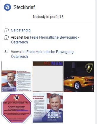 Der selbständieg Arbeitnehmervertreter Wolfgang von FHB/FHAV (Screenshot Facebook)