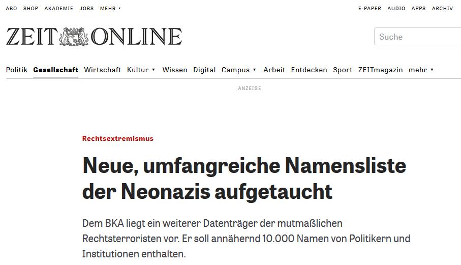 NSU-Liste (zeitonline.de) https://www.zeit.de/politik/deutschland/2011-11/rechtsextremismus-cd-politiker