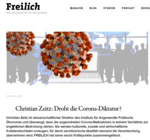 """Zeitz beim Aula-Nachfolger """"Freilich"""" als Direktor"""