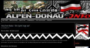 alpen-donau.info: Bewirbt Moschee-Baba-Spiel der FPÖ (Sept. 2010)
