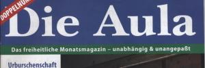 """Duswald als Stammautor bei """"Die Aula"""""""