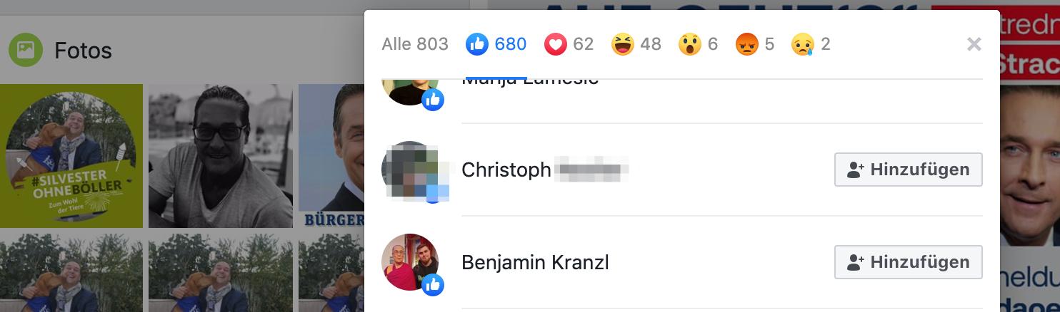 Like für Strache/DAÖ: Benjamin Kranzl
