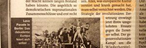 """Wolfgang Caspart in """"Zur Zeit"""" Ausgabe 32-33/18"""