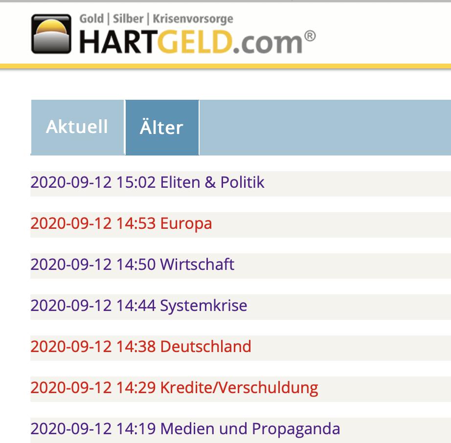 """Einträge auf """"Hartgeld"""" auch nach E.s Verhaftung"""