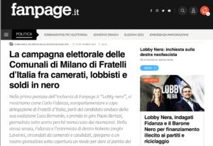 fanpage.it veröffentlicht Videomitschnitte zu Fidanza und Jonghi Lavarini