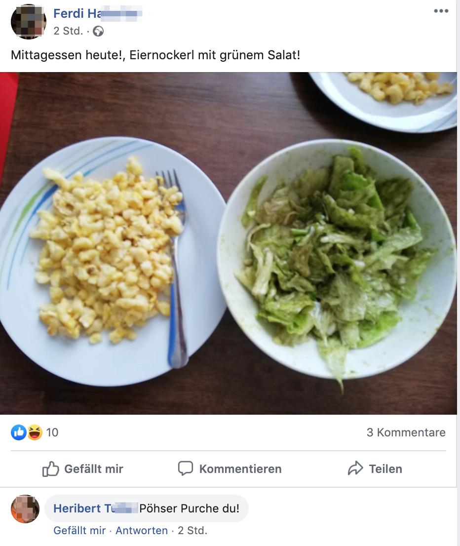"""Ferdi H. und Heribert T.: Eiernockerl und """"Pöhser Purche du!"""""""