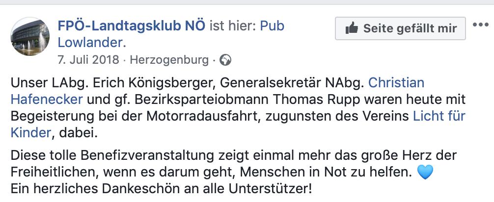 Die FPÖ im Pub Lowlander