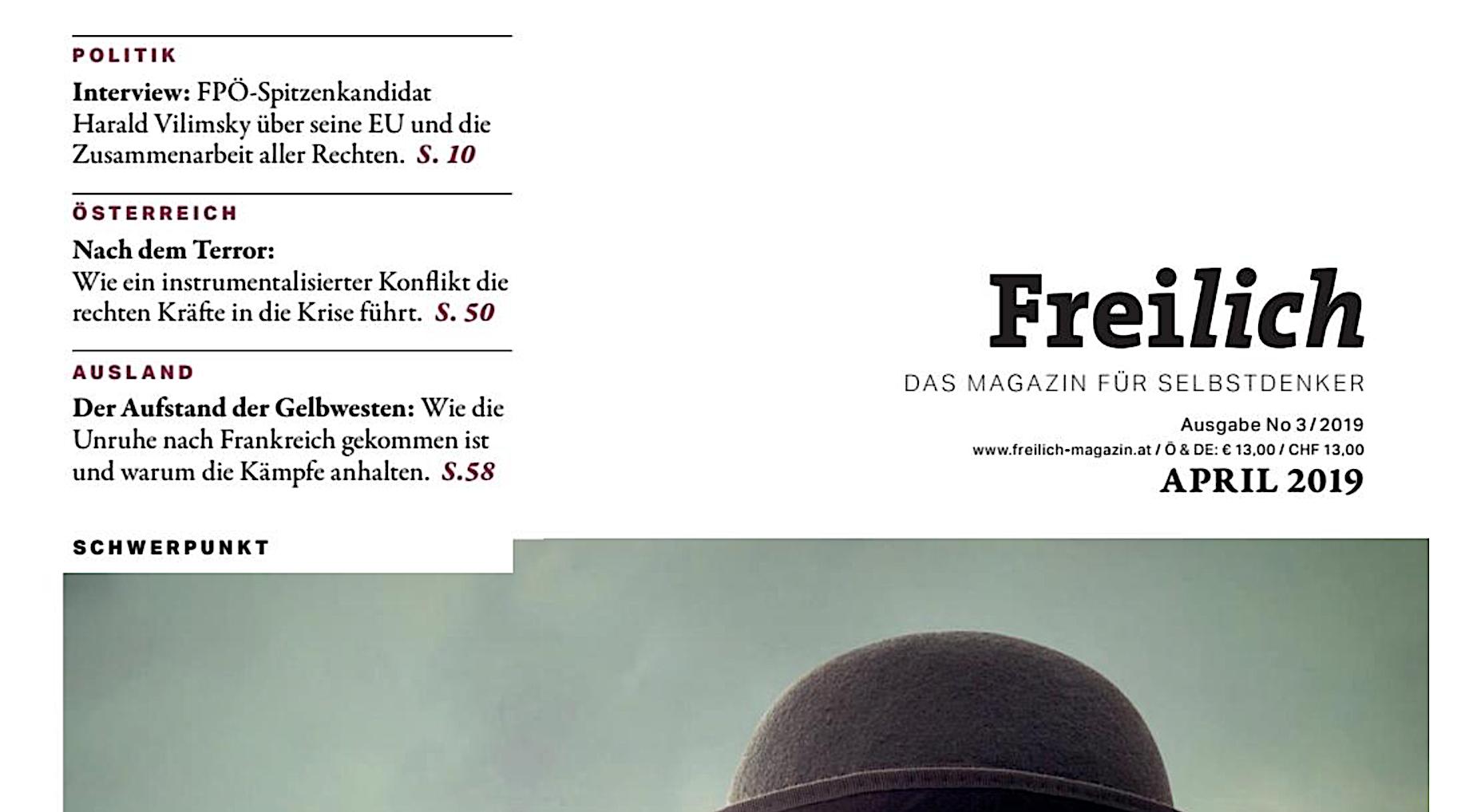 """""""Freilich"""" Nr. 3/19"""