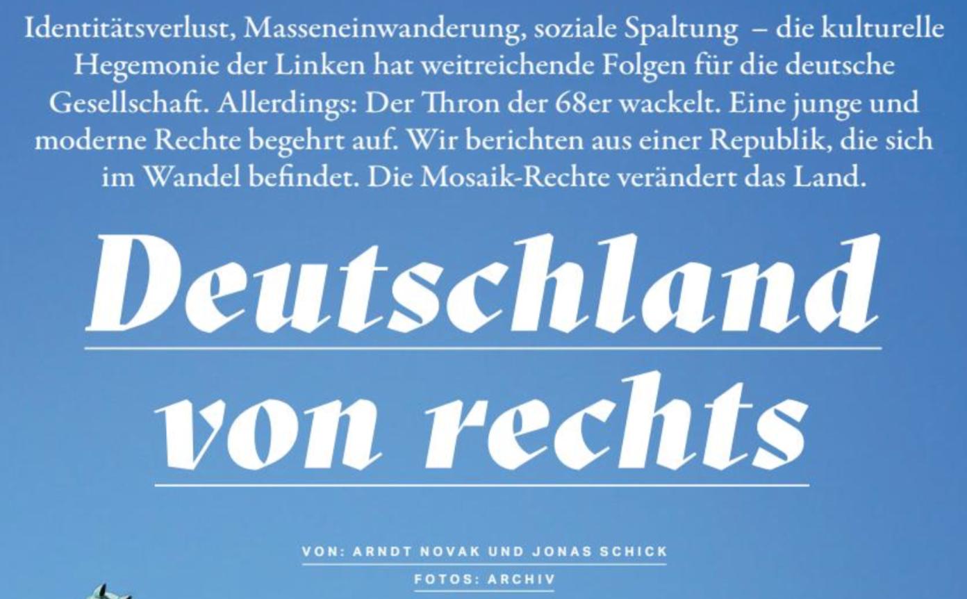 Freilich 2: Identitäre Novak/Schick als Autoren