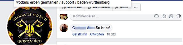 G. A. bei Wodans Erben Baden-Württemberg