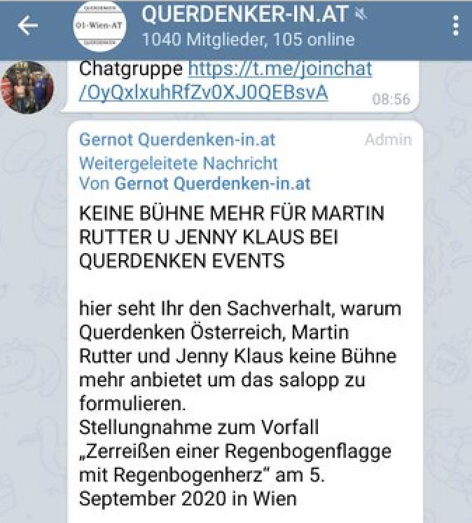 Gernot jagt Rutter und Klausnitzer verbal von der Bühne