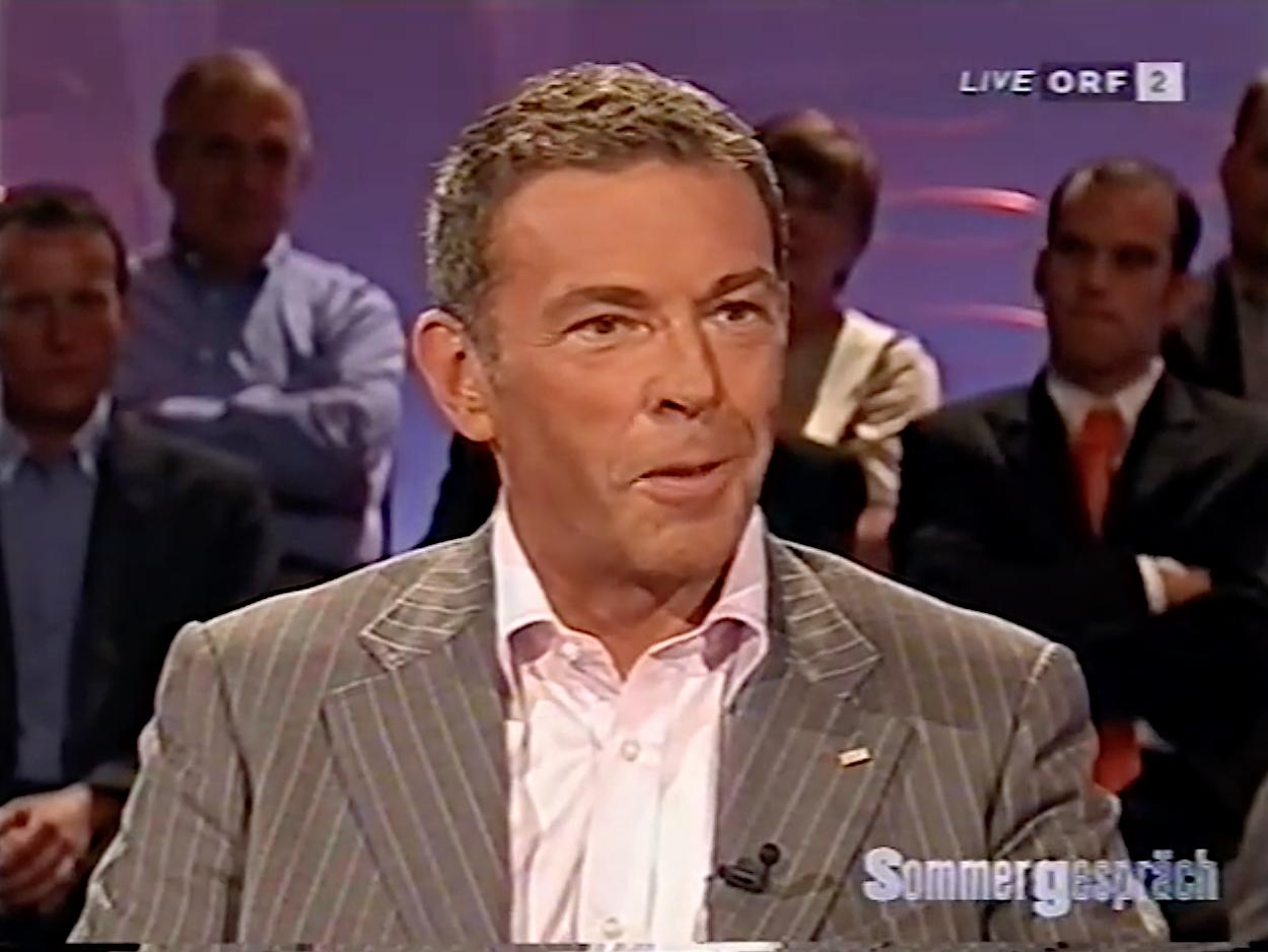 Haider ORF-Sommergespräch 2005 (Screenshot)